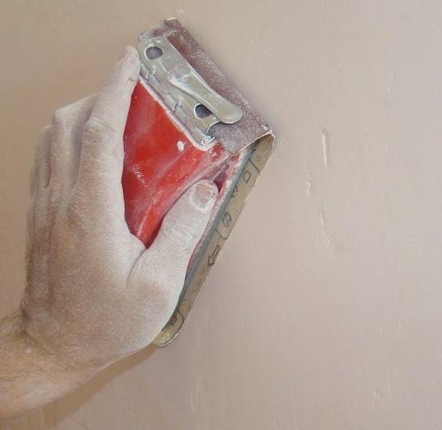 smirglanje zidova
