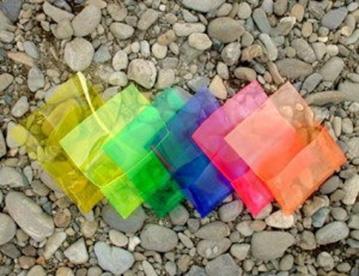 paleta boja na kamenu